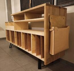 Meubles sur mesure pour particuliers : meuble à vinyles
