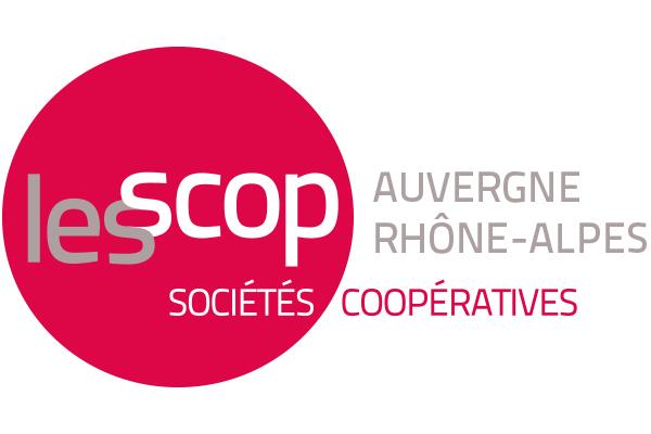 logo de l'Union régionale des SCOP et SCIC d'Auvergne-Rhône-Alpes